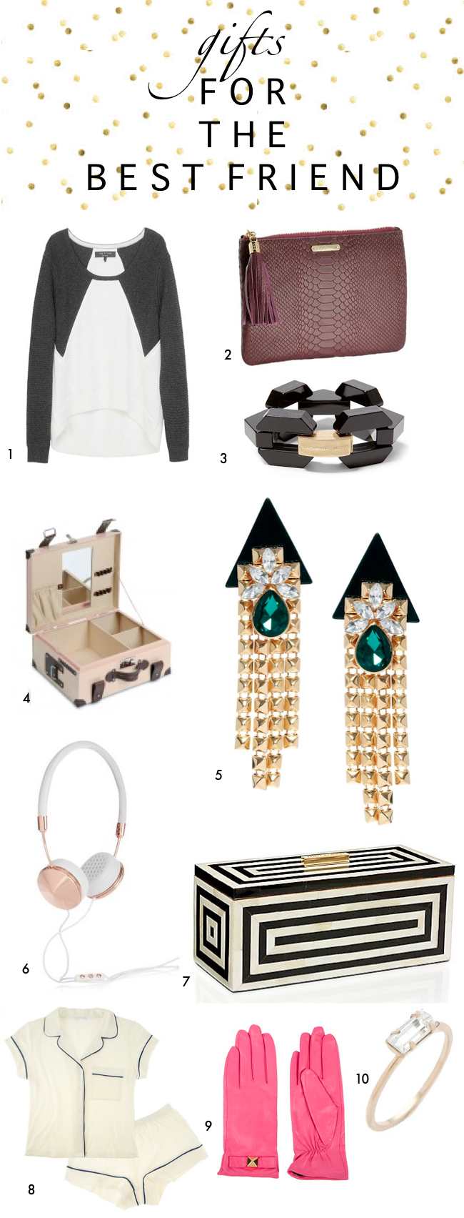 Gift Guide Gifts For The Best Friend A Vintage Splendor