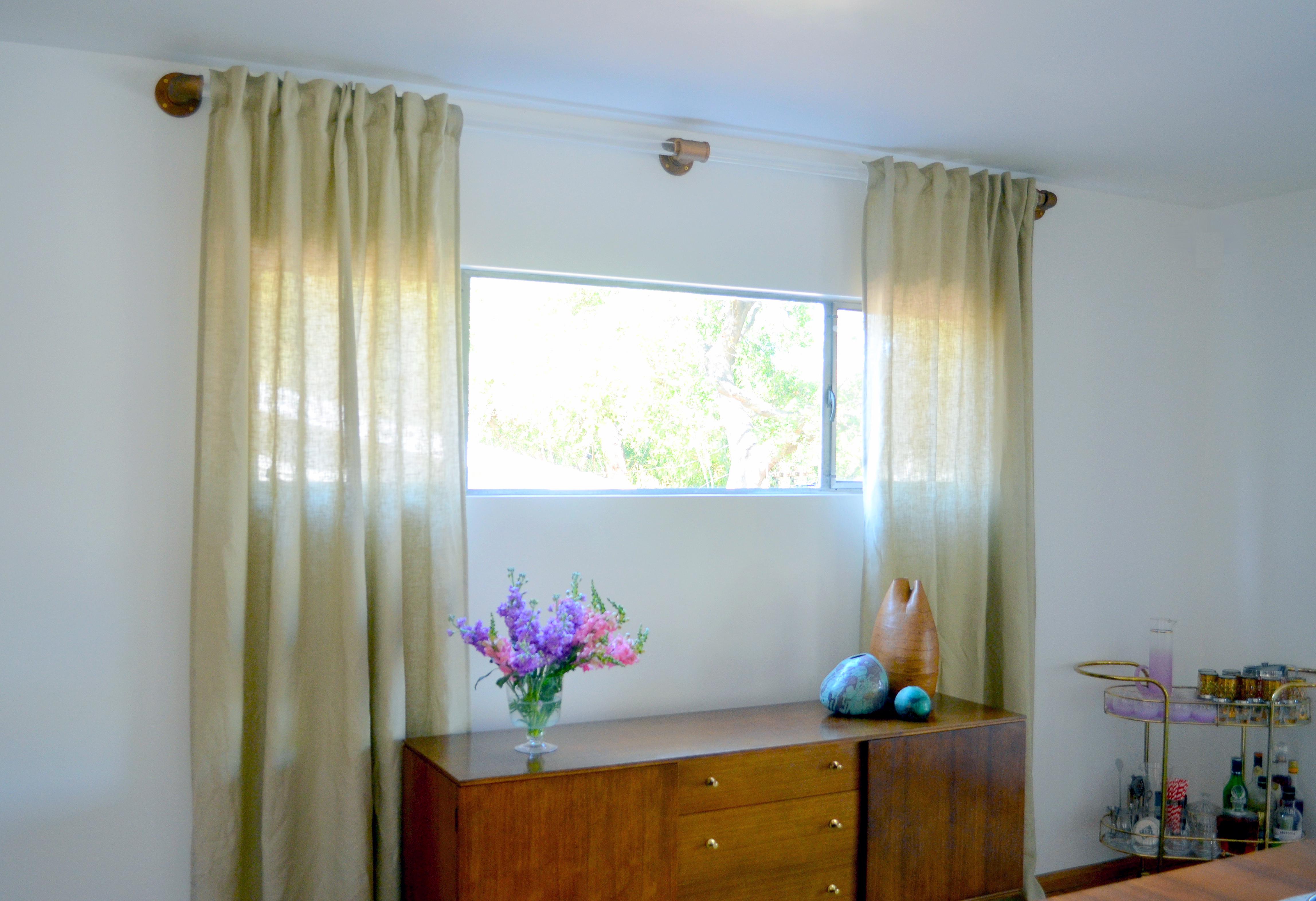 Acrylic curtain rod - Diy Lucite Curtain Rod