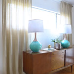 DIY Lucite Curtain Rod