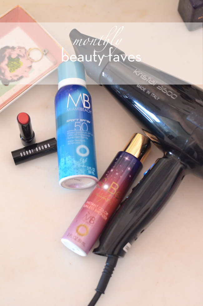 monthly beauty faves