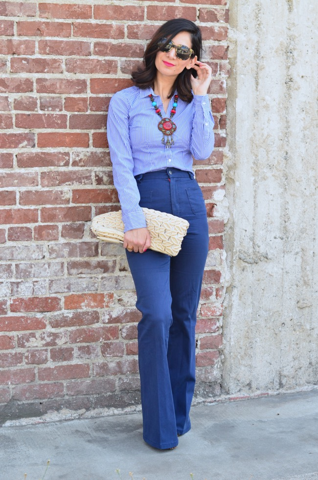 1000+ images about flared bellbottom bootcut and wideleg pants on Pinterest | Flare Bell ...