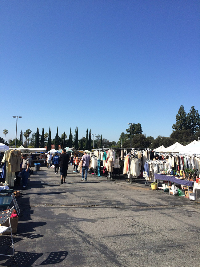 tips for shopping rose bowl flea market
