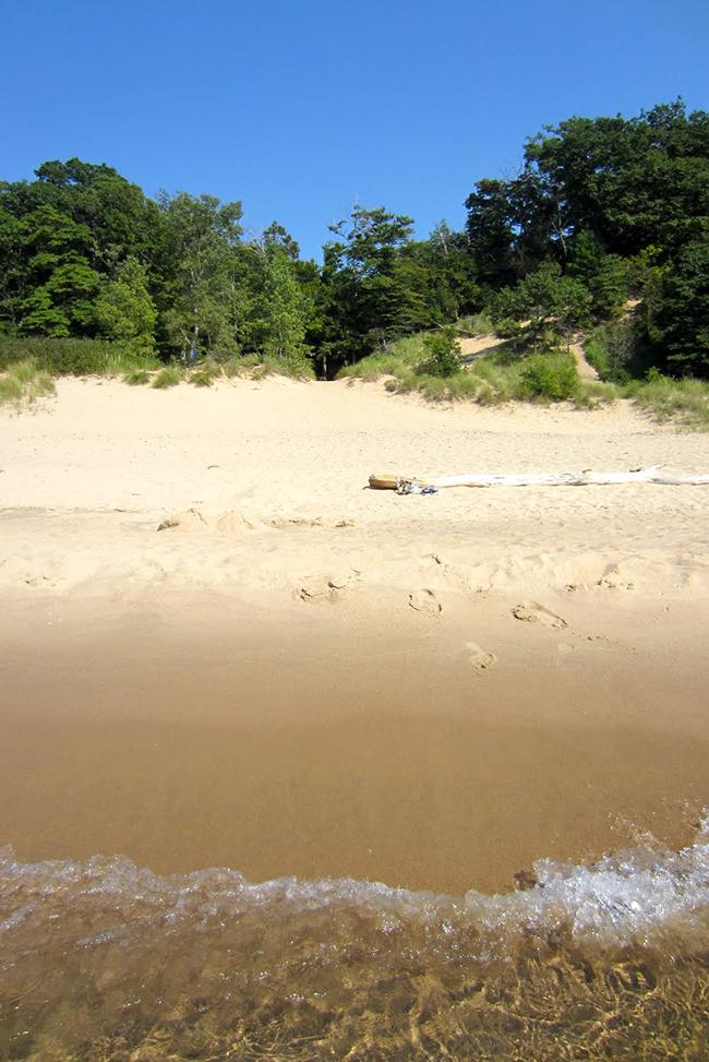 sand dunes michigan