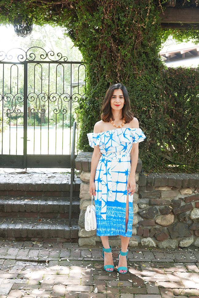 trendy off the shoulder dress