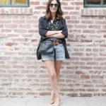 The Perfect Vintage Denim Shorts