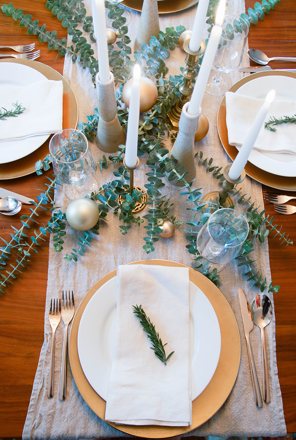 Last Minute Table Setting Ideas For The Holidays Simple