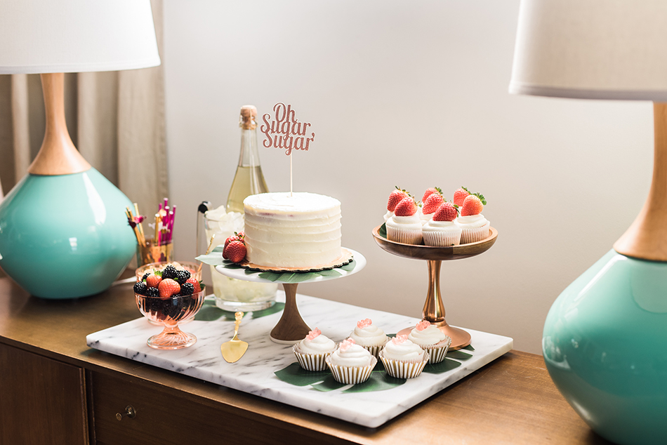 desserts and sweets table
