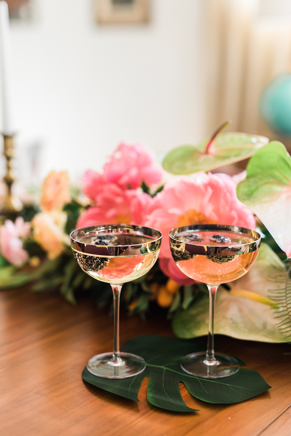 champagne and sweets party