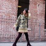 Vintage Tassel Fringe Dress