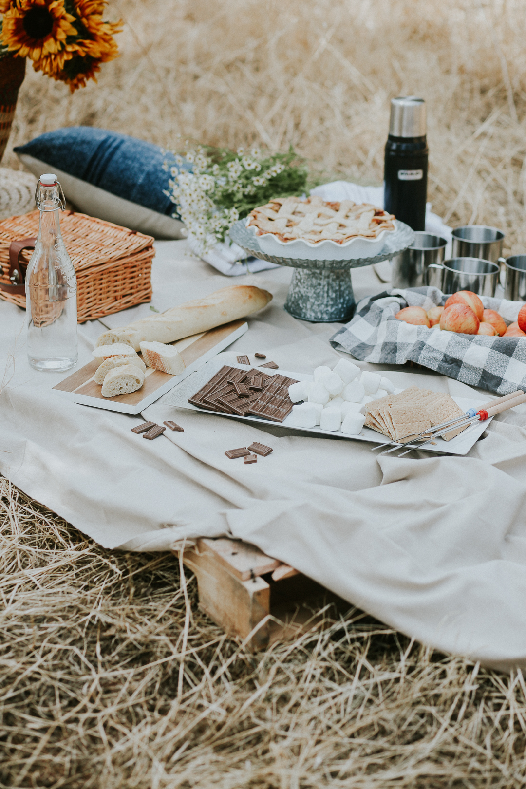 how to style a fall picnic ideas