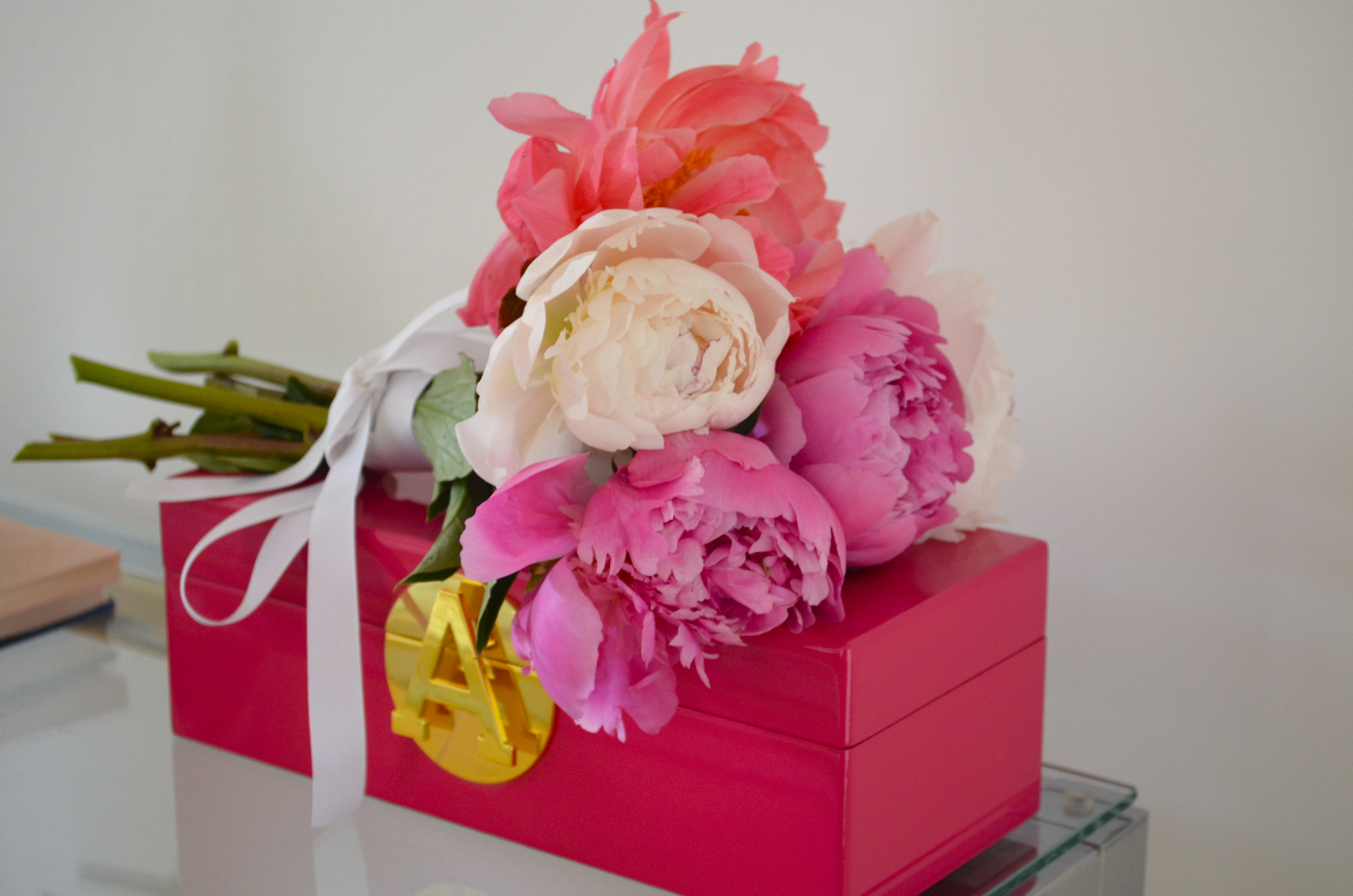 diy peony bouquet