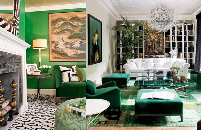 Design Crush Emerald Interiors A Vintage Splendor