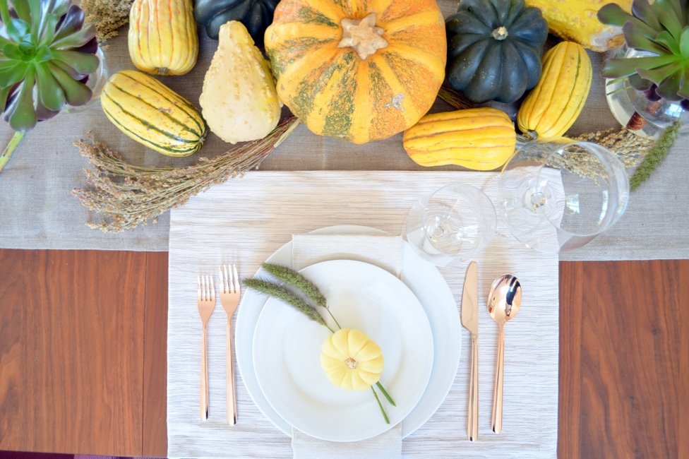 modern traditional thanksgiving setting 3
