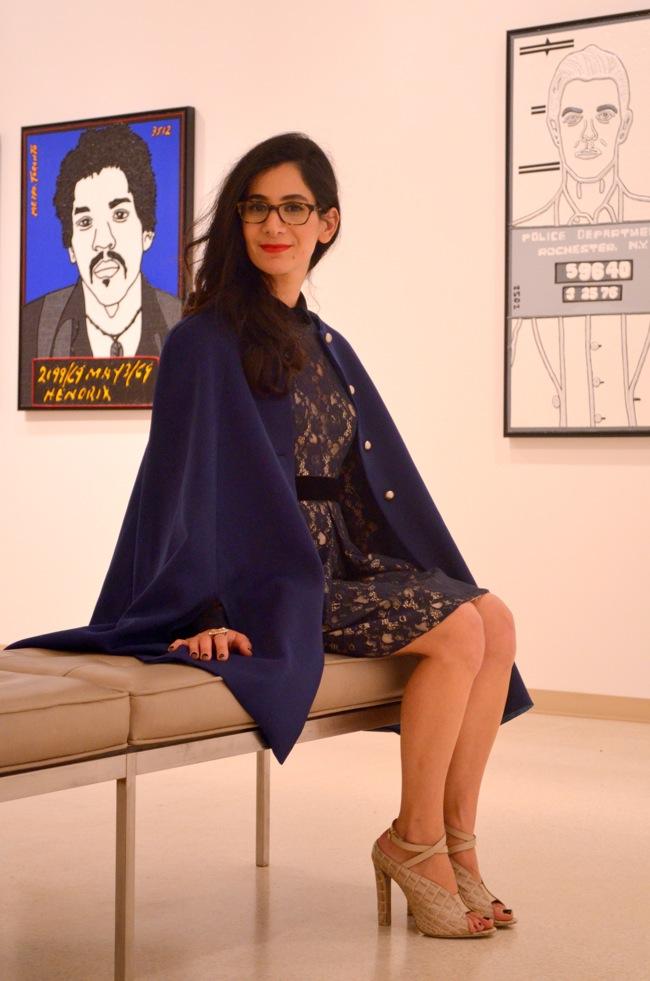 vintage cape jill stuart dress