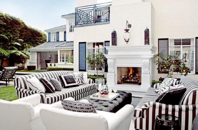 hollywood regency exterior