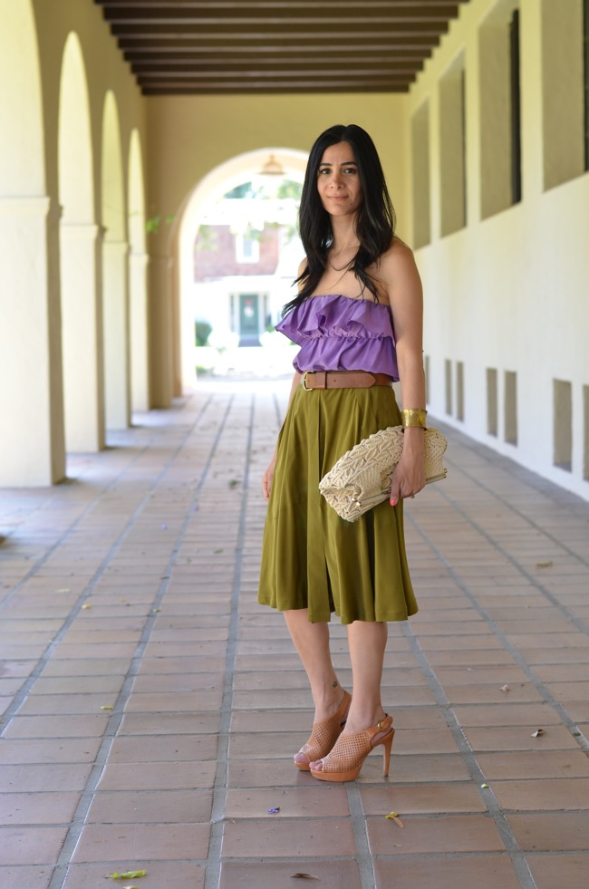 madewell camper skirt