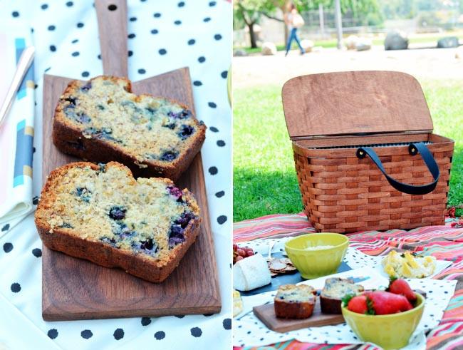 picnic food spread