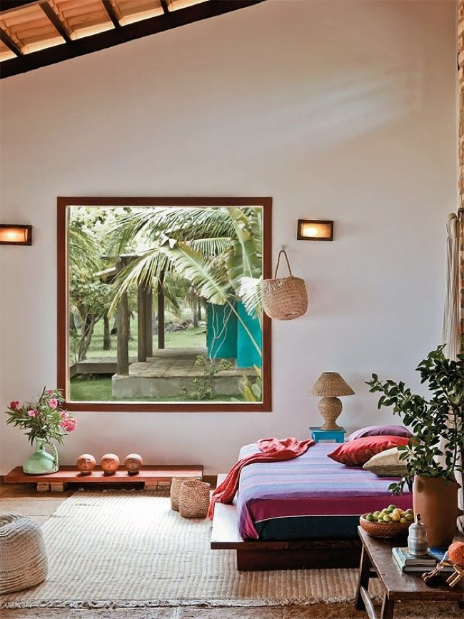 Eclectic Bedroom Vintage Boho