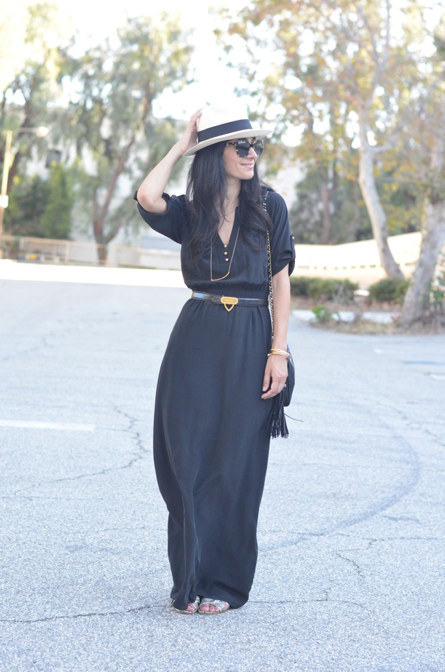 cynthia vincent maxi dress