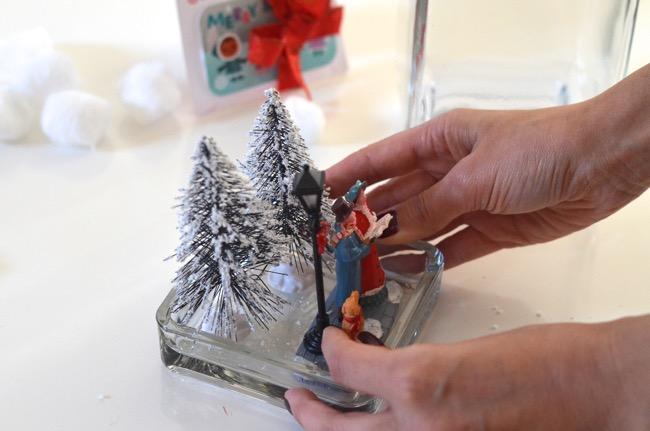 gift card snow globe