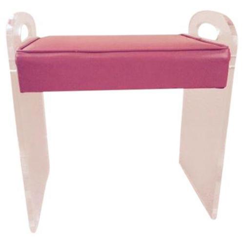 vintage lucite stool