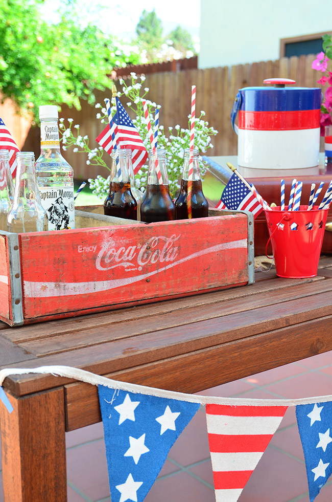 vintage fourth of july party theme
