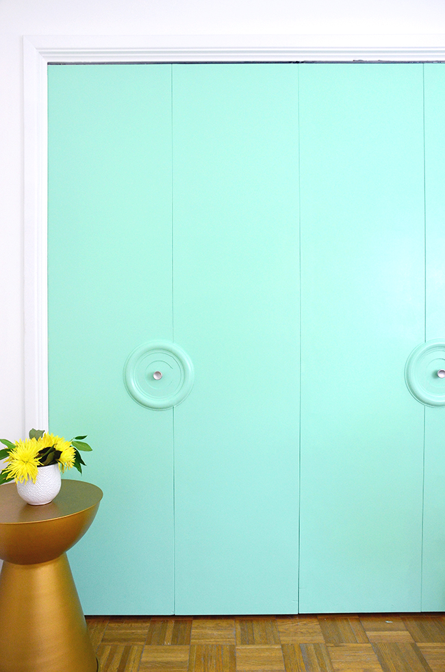 diy medallion doors