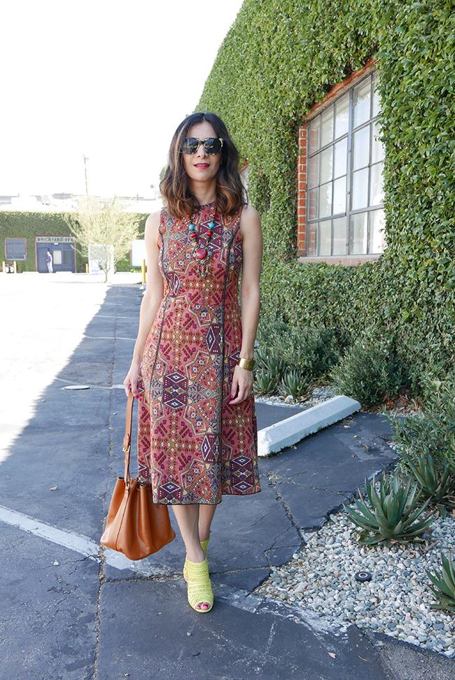 kilim dress