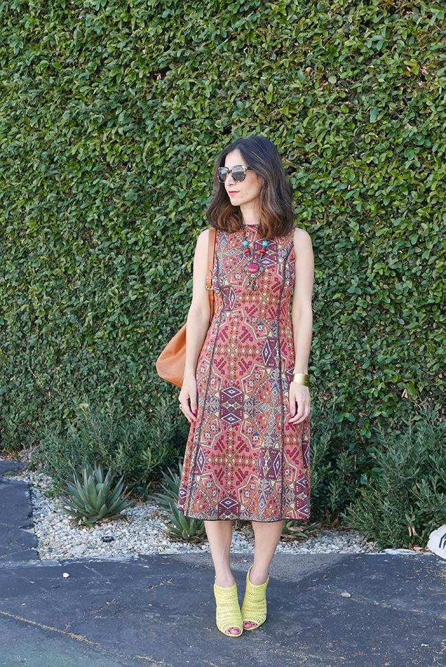 kilim inspired dress