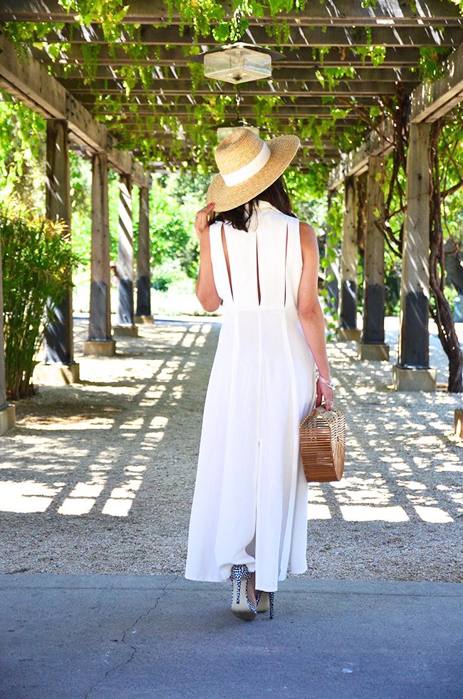 fringe vintage dress