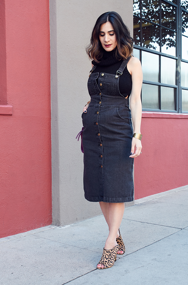 all black maternity style