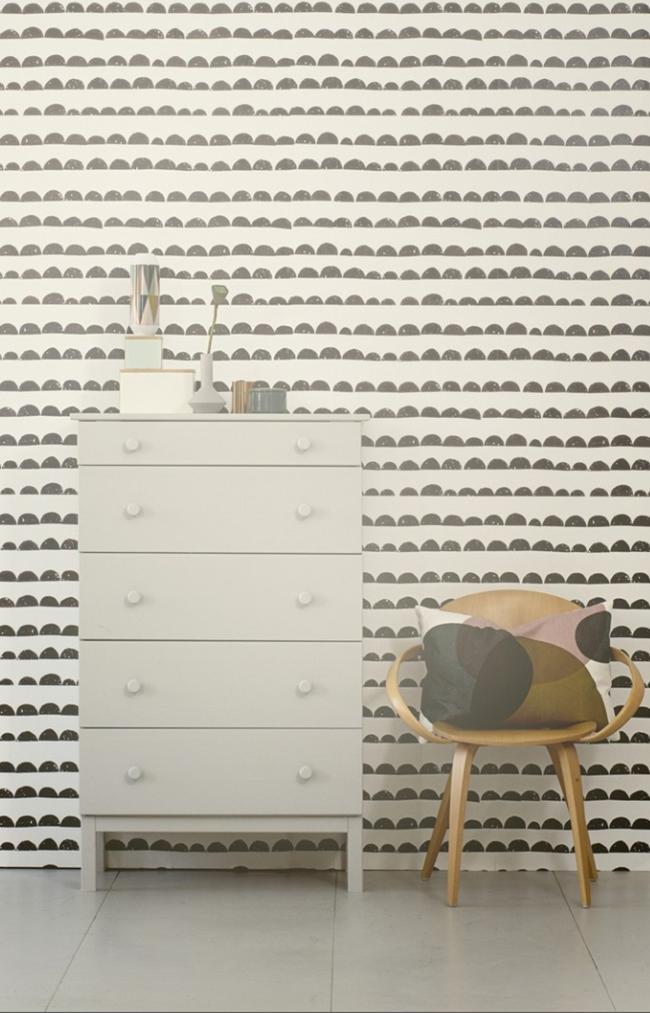 half moon wallpaper clever spaces