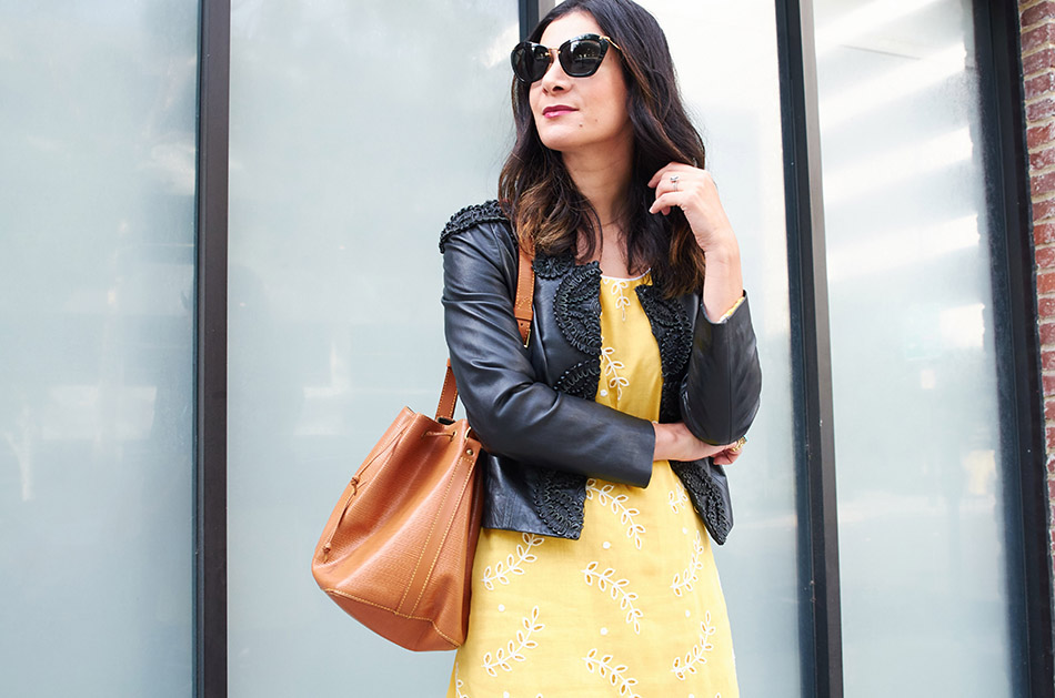 how to style black and yellow www.avintagesplendor.com