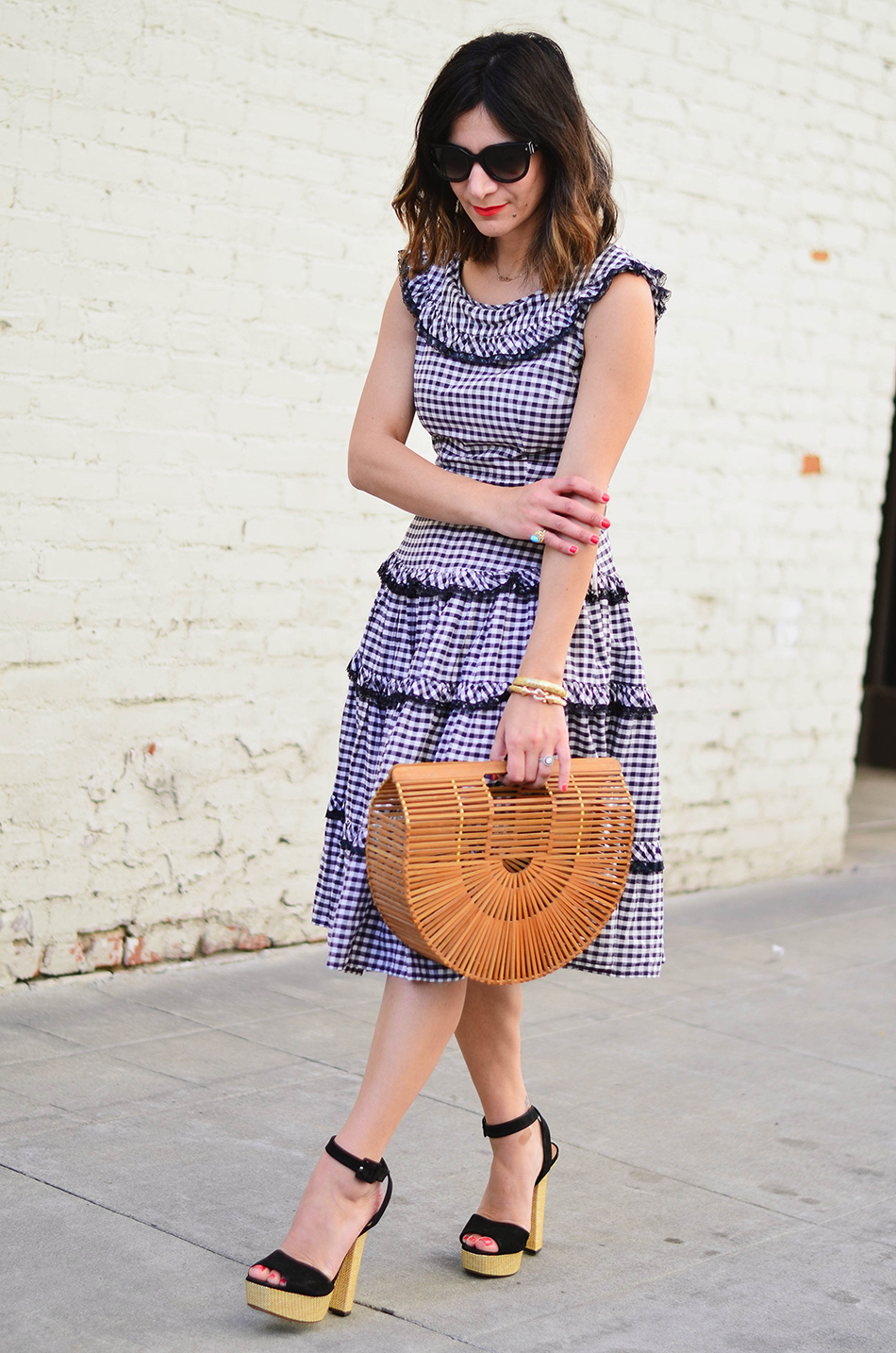 gingham dress for spring