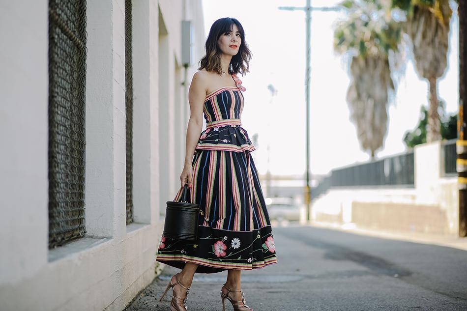 vintage victor costa dress