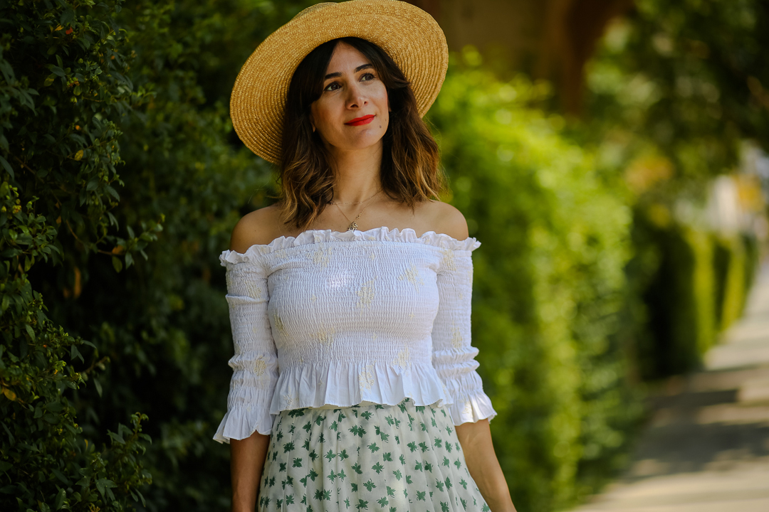 how to style an off the shoulder top outfit ideas