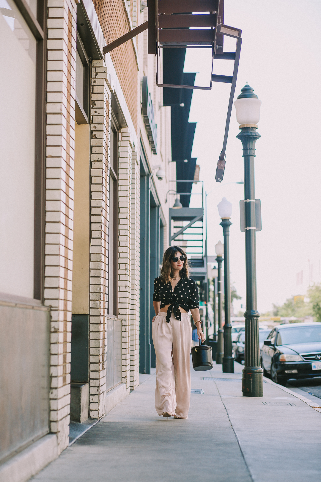 how to style silk pajama pants for work outfit ideas