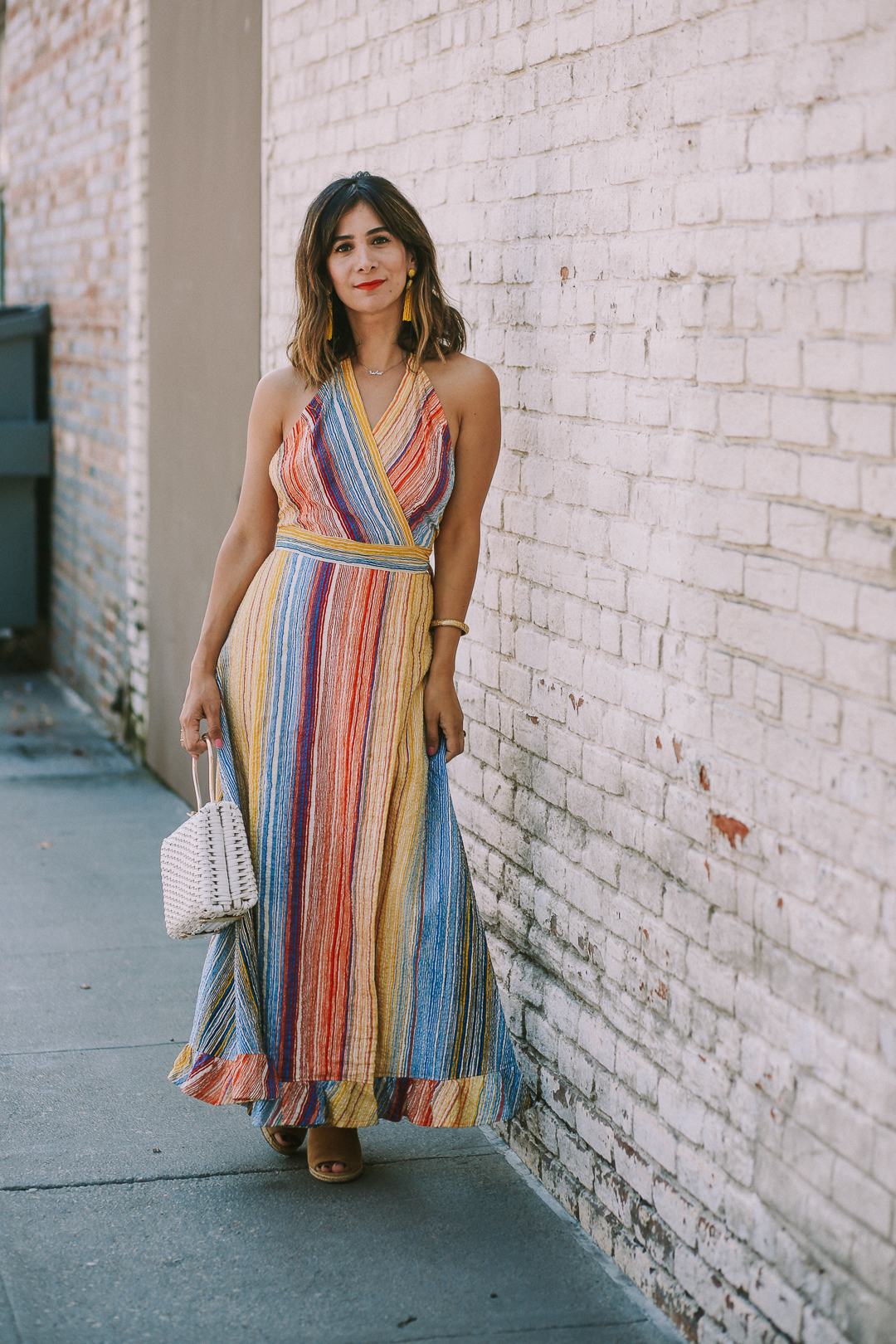 how to wear a maxi dress for fall