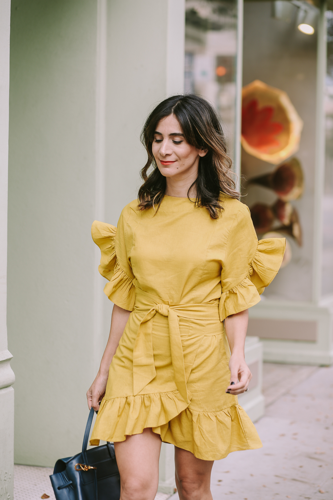 how to style chartreuse dress outfit ideas