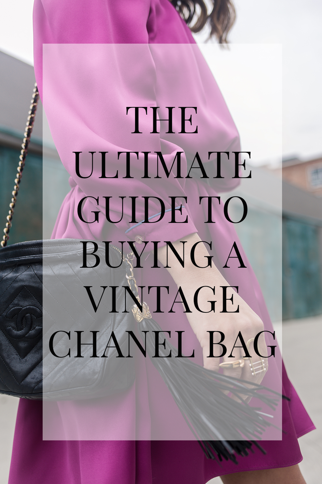 best tips for buying a vintage chanel bag