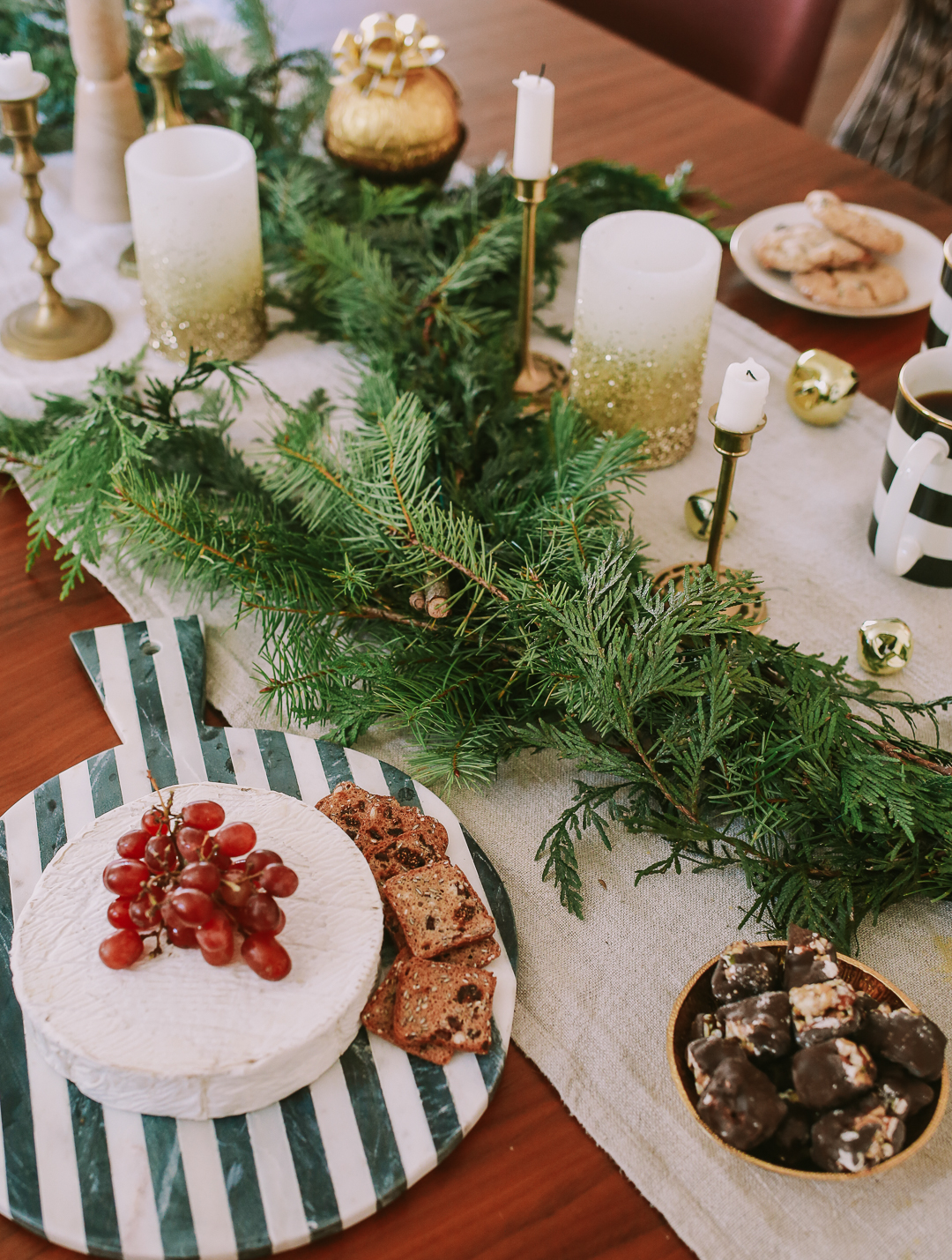holiday tablescape ideas