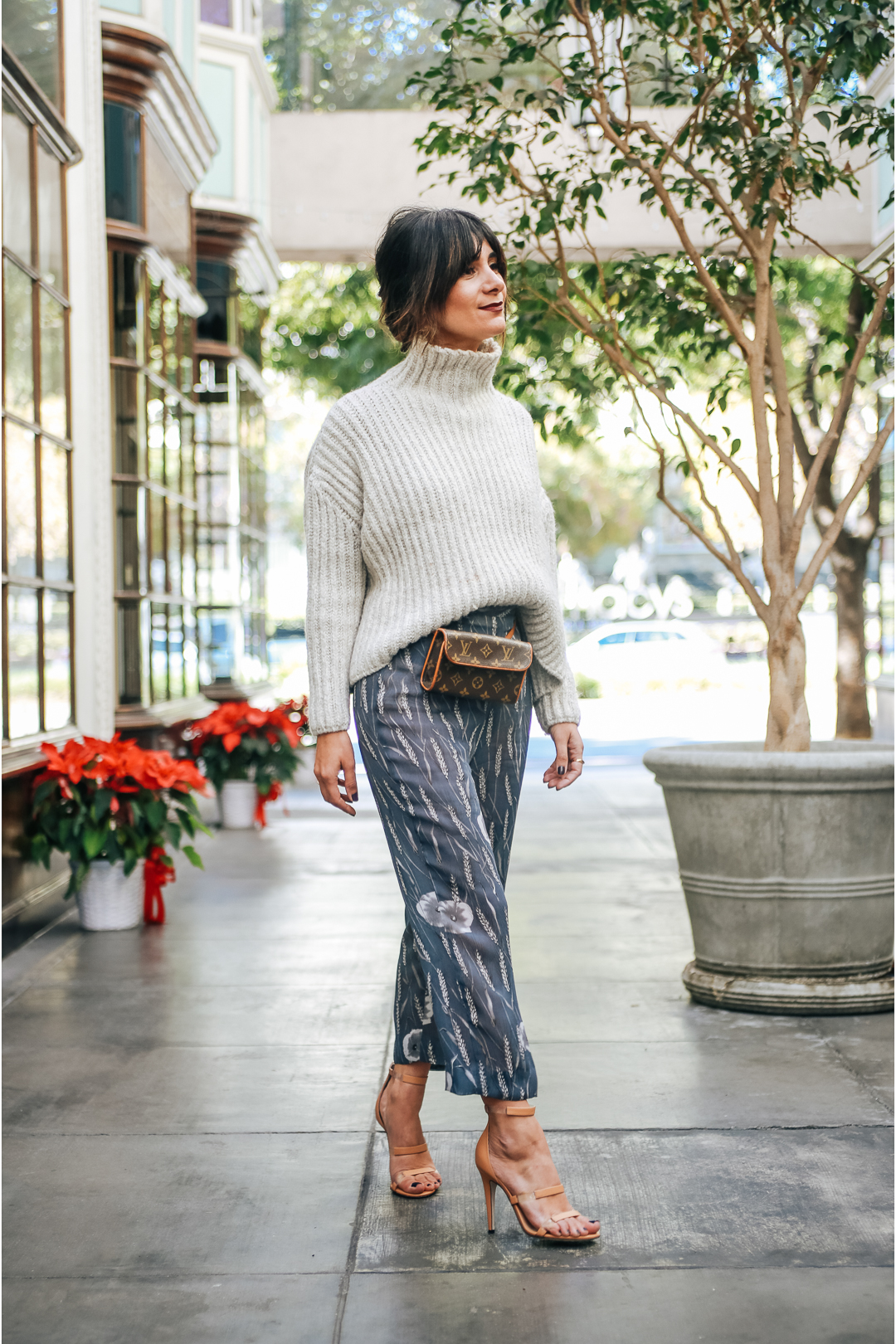 how to style silk pants outfit ideas