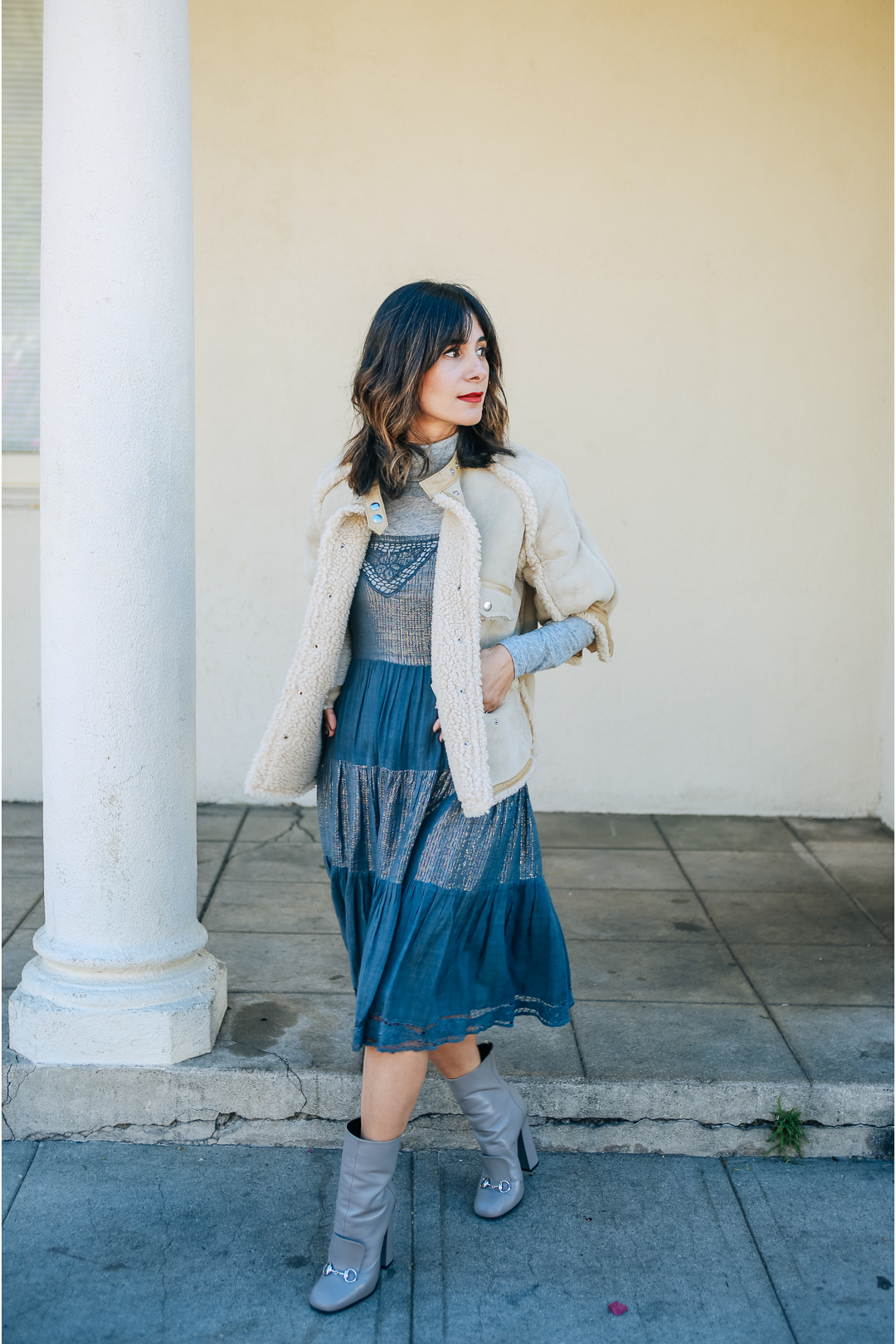 how to style a gauzy dress outfit ideas