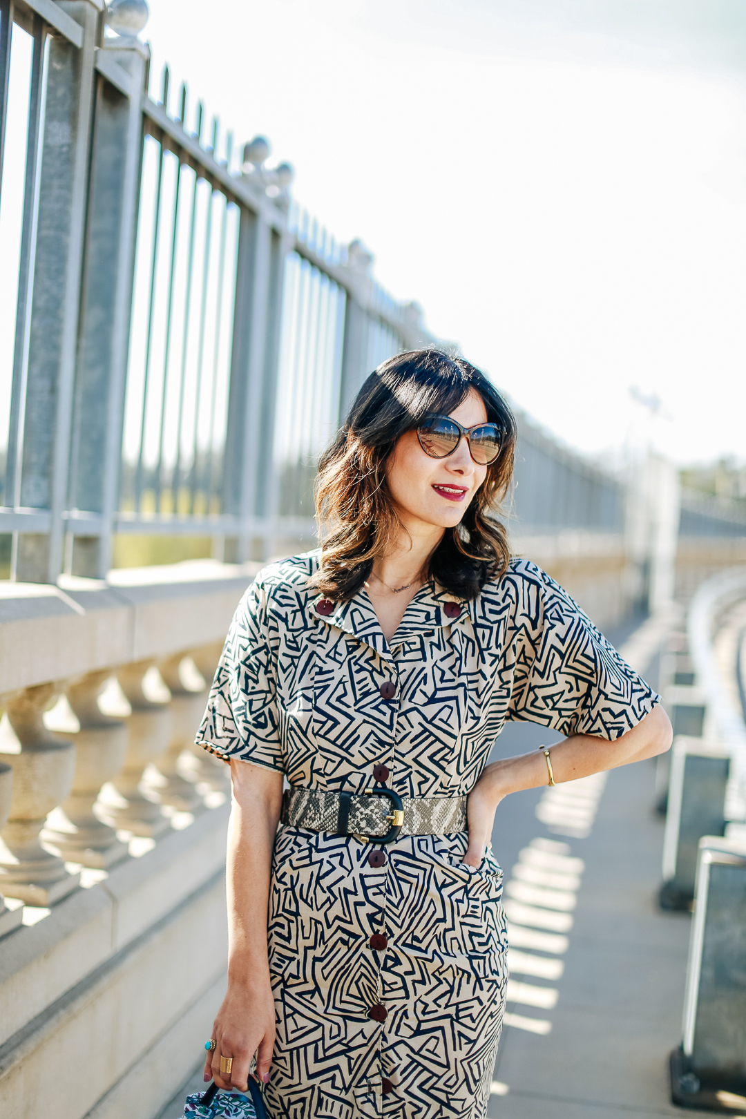 how to mix print outfit ideas