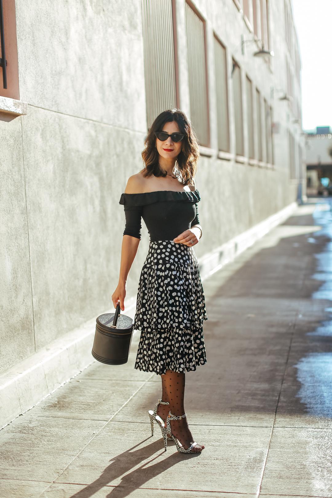 vintage albert nipon dress turned skirt