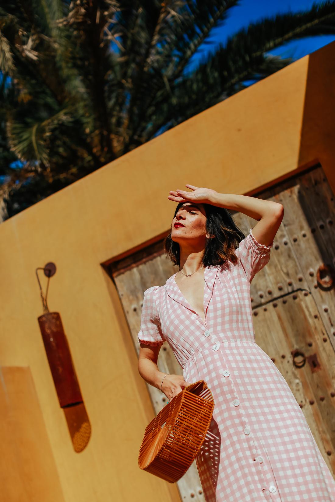 summer editorial shoot