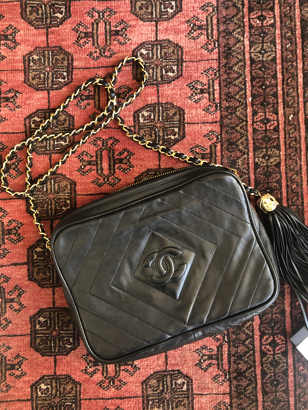 vintage chanel bag spa review