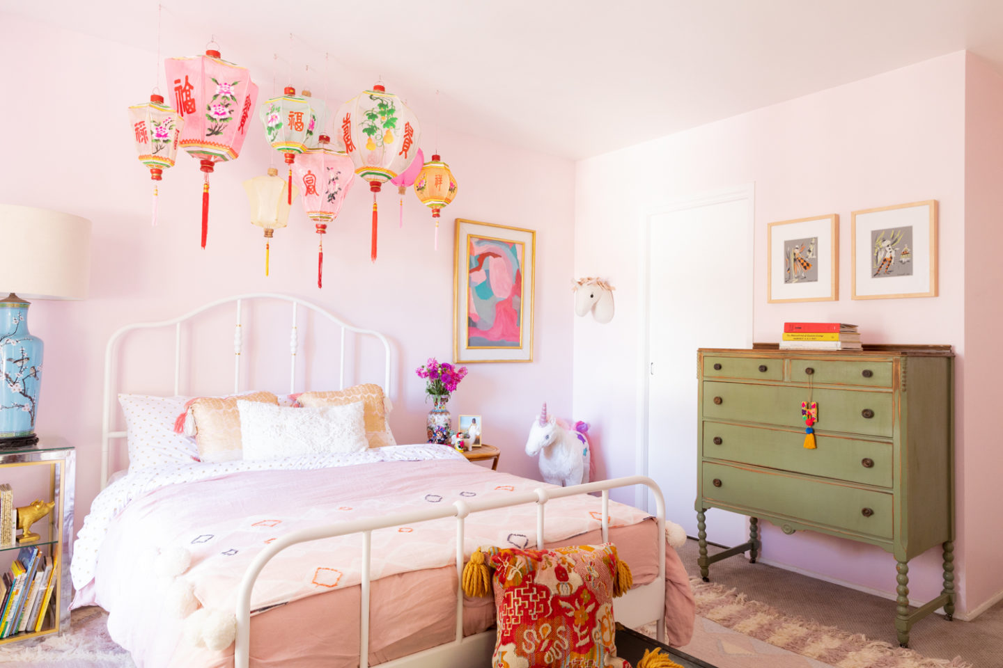 All Pink Girl's Room