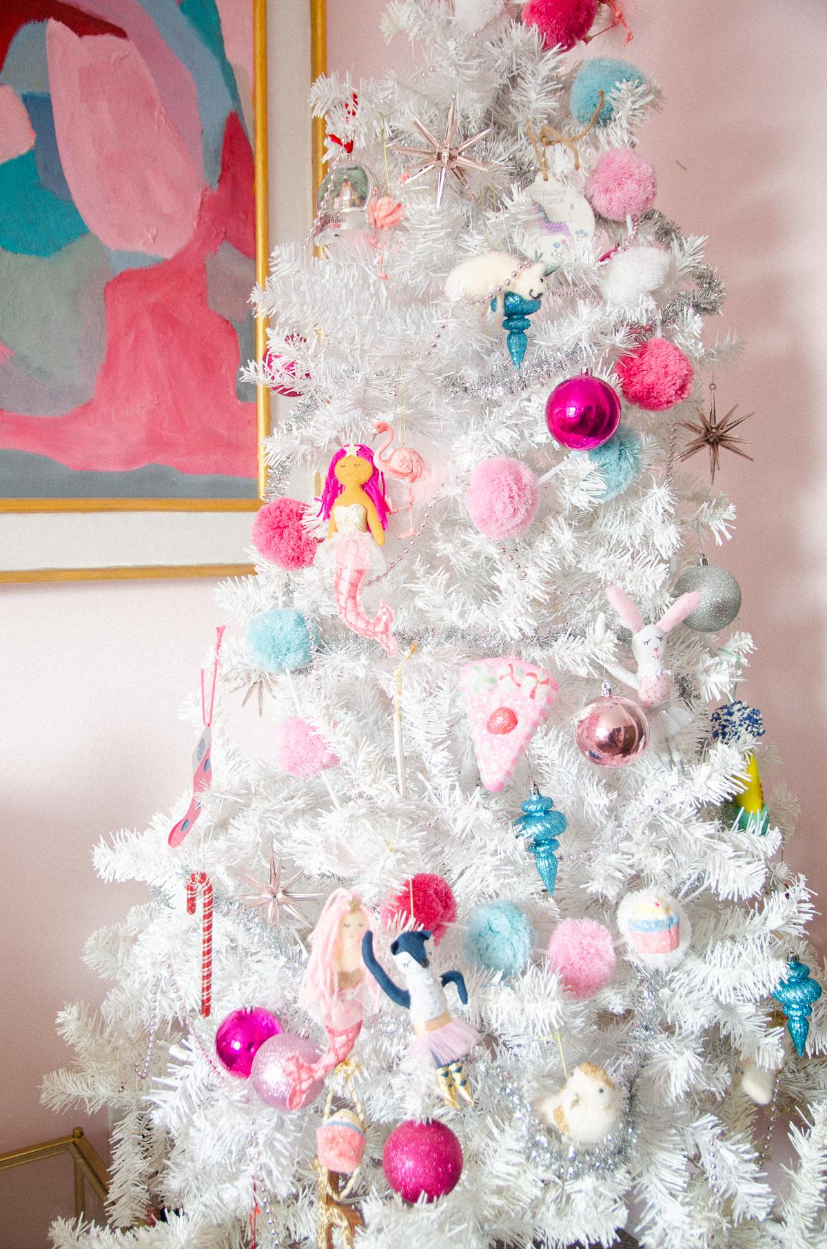 kids room christmas tree