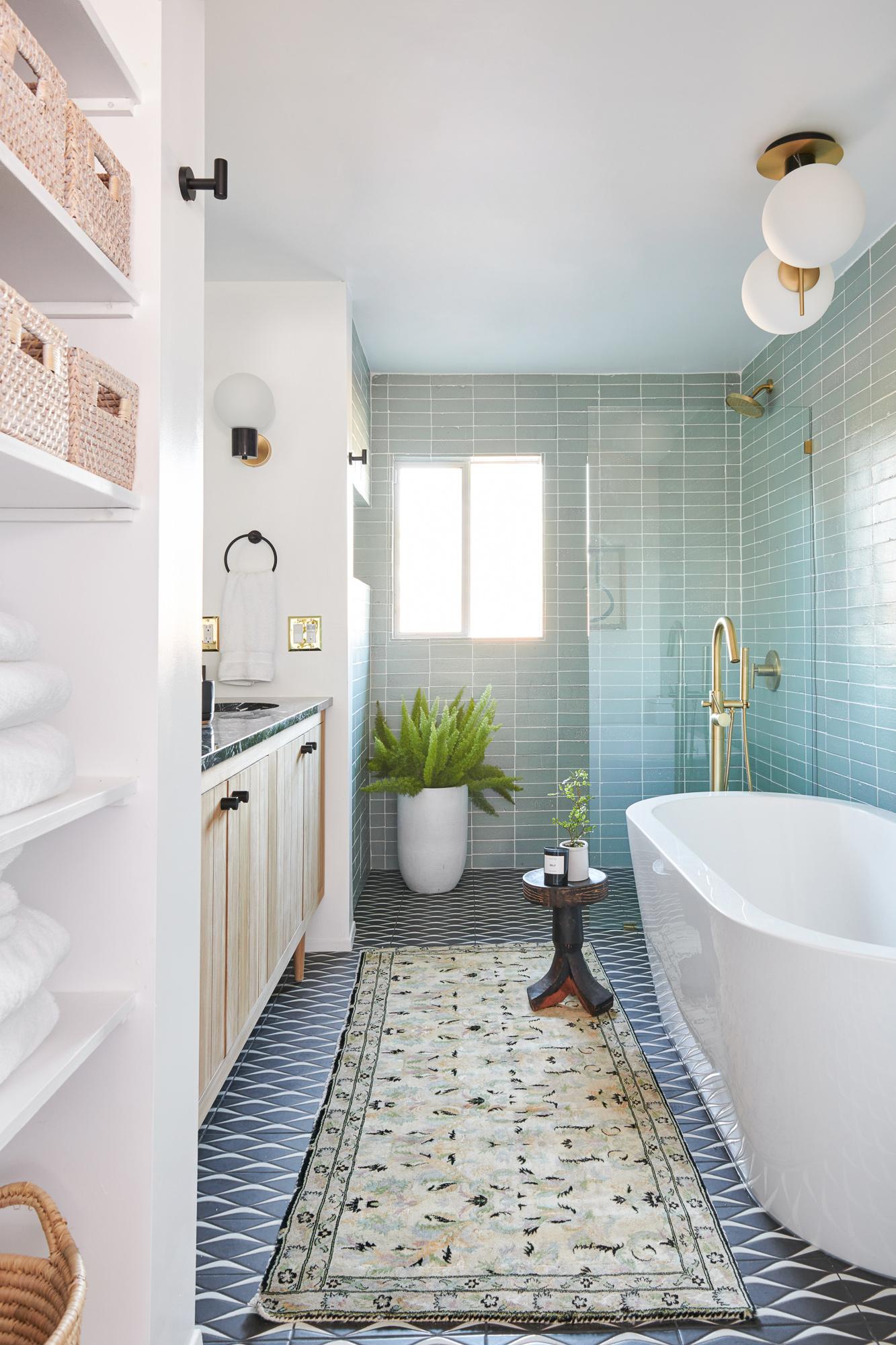 Mid Century Modern Bathroom Renovation A Vintage Splendor Home